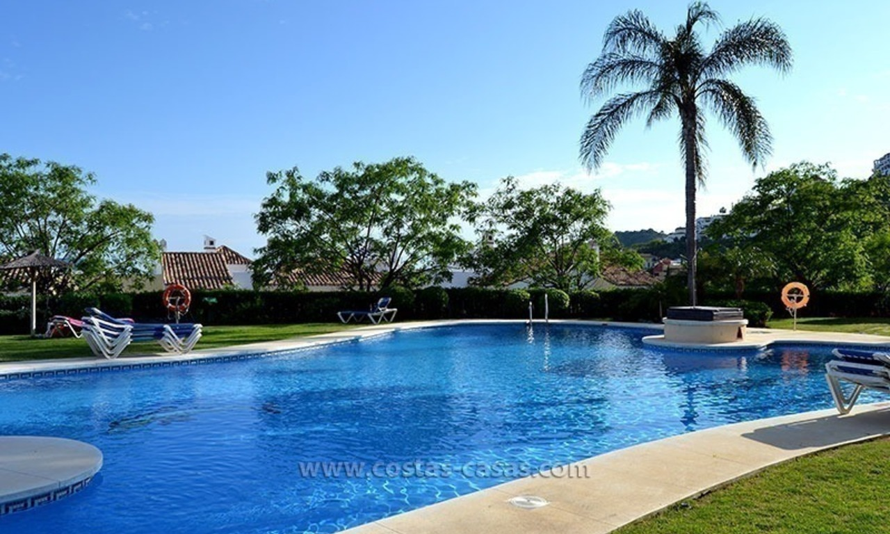 For Sale in Marbella – Benahavís: Apartment on the Golfcourse 34