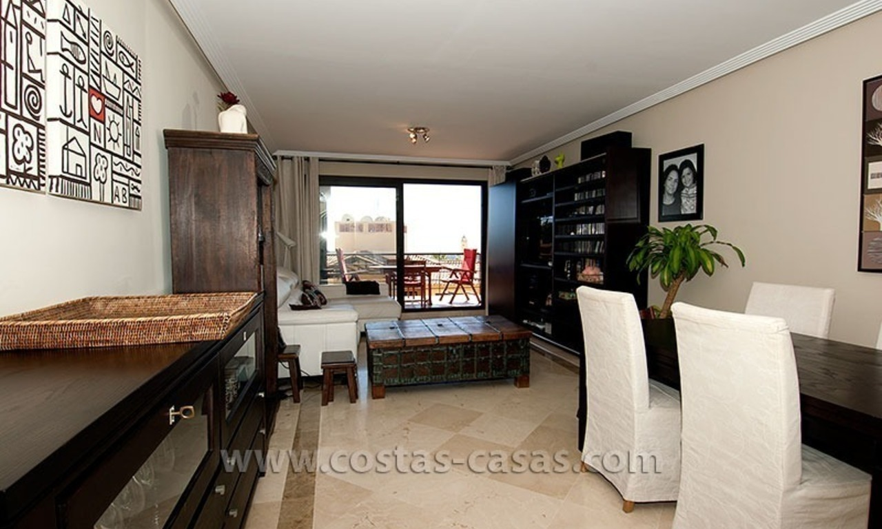 For Sale in Marbella – Benahavís: Double apartment on the golf course 9