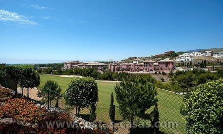 For Sale: Contemporary Luxury First-line Golf Apartment in the Marbella – Benahavís – Estepona Triangle 3