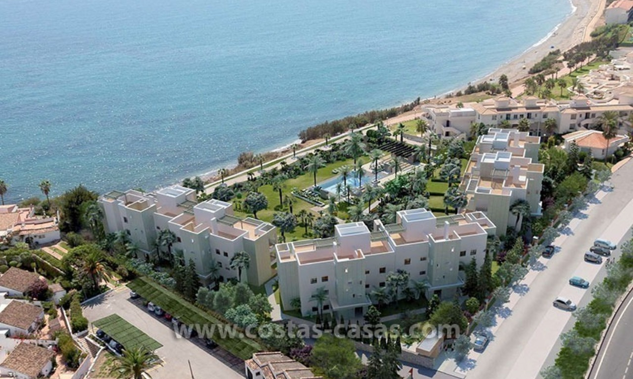 For Sale: Ready to move in New Modern Seaside Apartments in Estepona, Costa del Sol 1