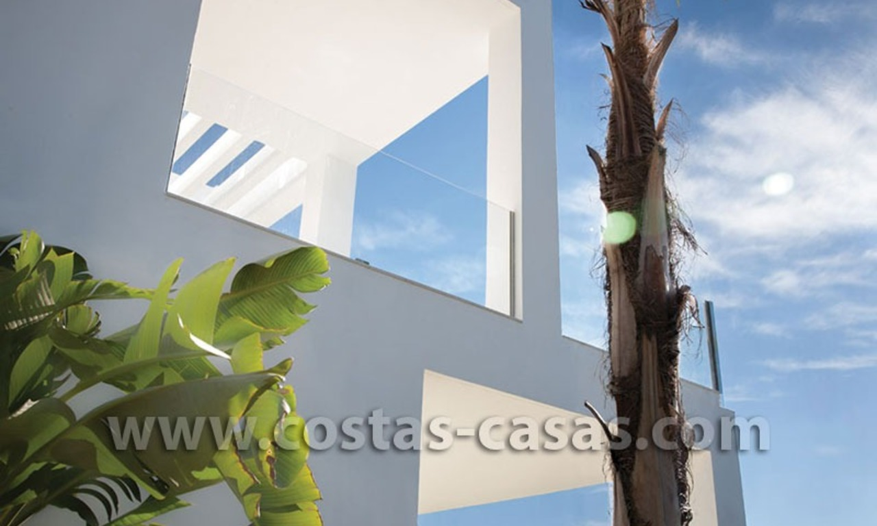 For Sale: Huge and Exceptionally Luxurious Modern Style Townhouses in Marbella 4