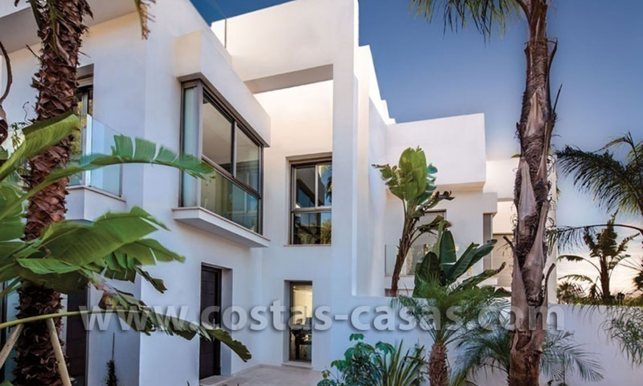 For Sale: Huge and Exceptionally Luxurious Modern Style Townhouses in Marbella 5