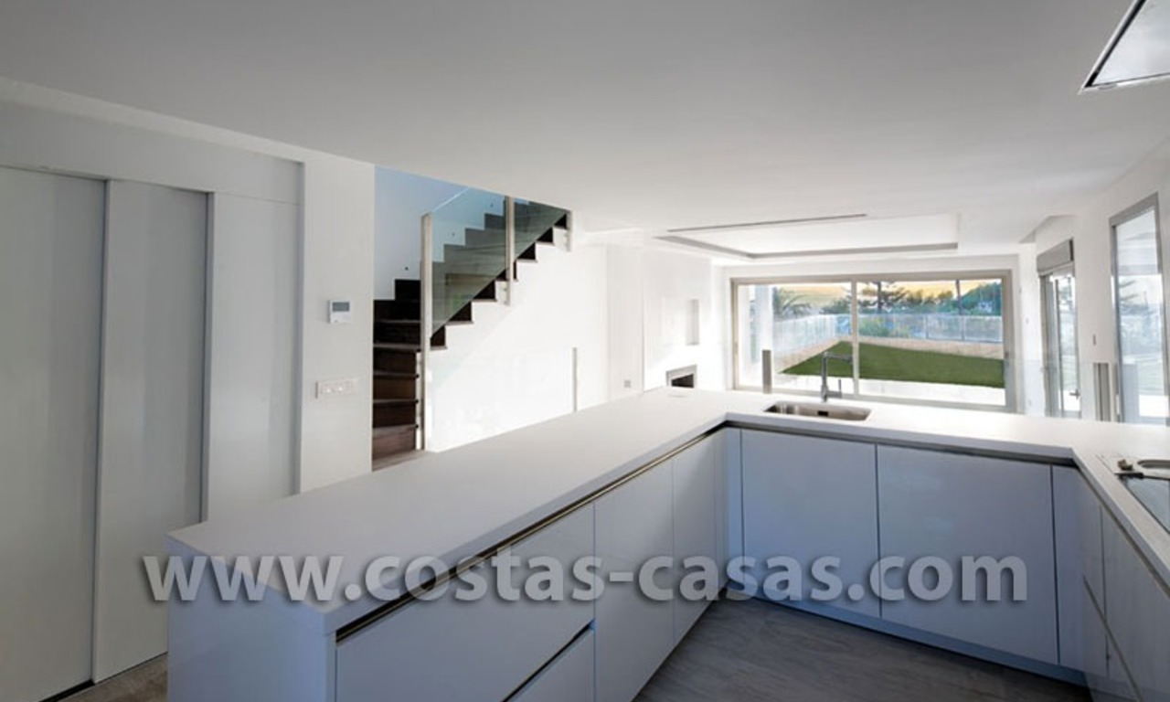 For Sale: Huge and Exceptionally Luxurious Modern Style Townhouses in Marbella 12