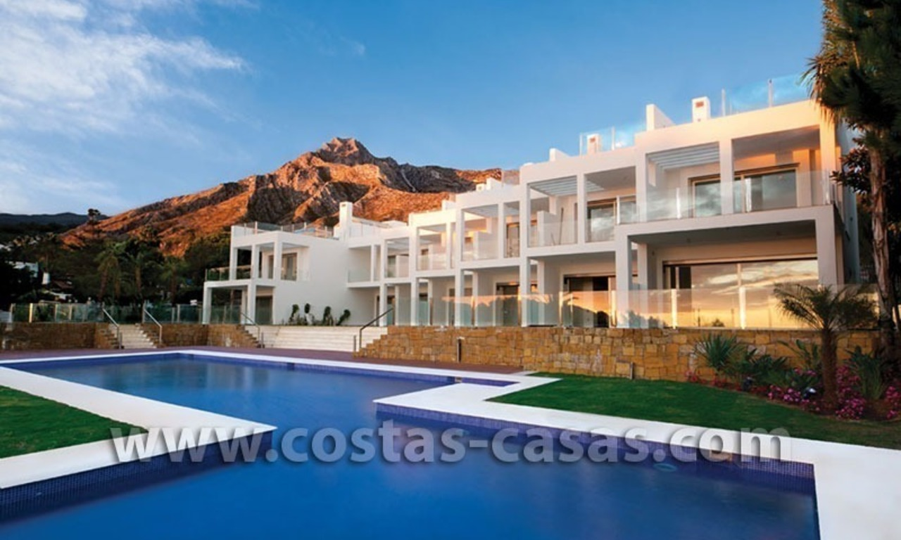 For Sale: Huge and Exceptionally Luxurious Modern Style Townhouses in Marbella 6