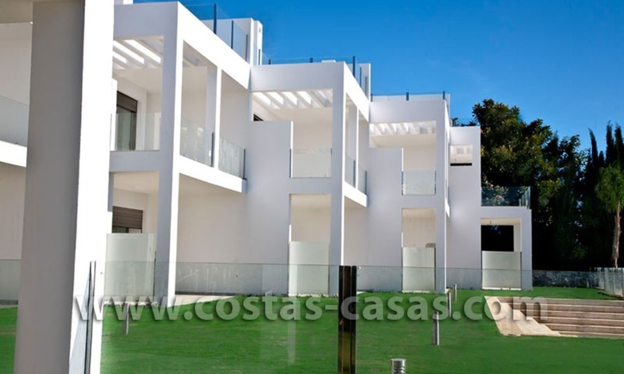 For Sale: Huge and Exceptionally Luxurious Modern Style Townhouses in Marbella 7
