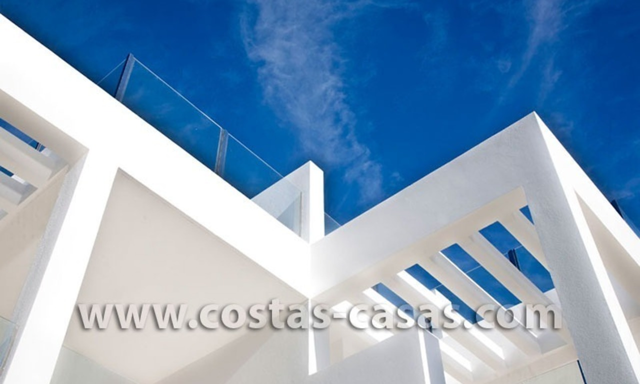 For Sale: Huge and Exceptionally Luxurious Modern Style Townhouses in Marbella 9