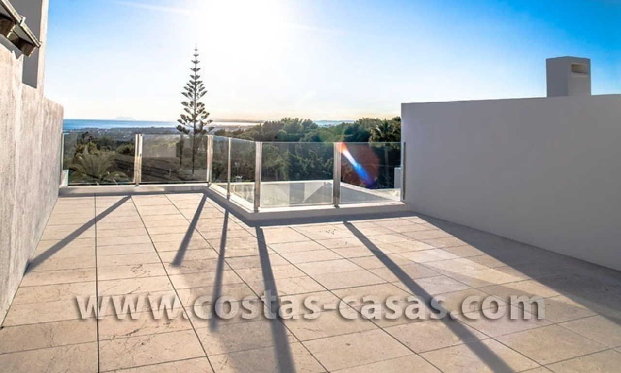 For Sale: Huge and Exceptionally Luxurious Modern Style Townhouses in Marbella 11