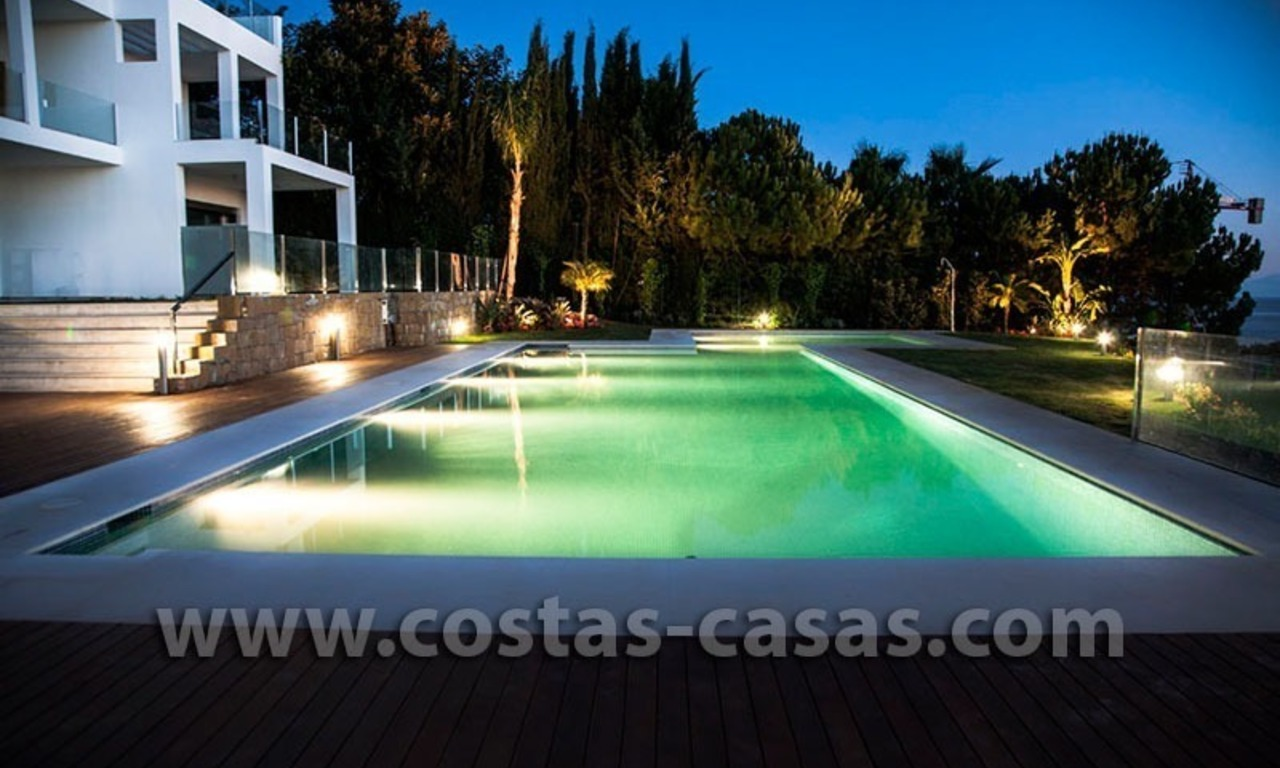 For Sale: Huge and Exceptionally Luxurious Modern Style Townhouses in Marbella 16
