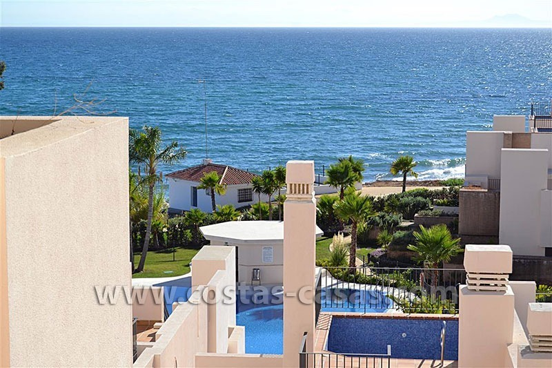 Modern Frontline Beach Apartments and Penthouse for sale on the New Golden Mile, Marbella – Estepona
