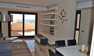 Modern Frontline Beach Apartments and Penthouse for sale on the New Golden Mile, Marbella – Estepona 13