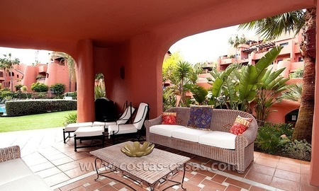 For Sale First Line Apartment in Exclusive Estate on the New Golden Mile between Marbella and Estepona 1