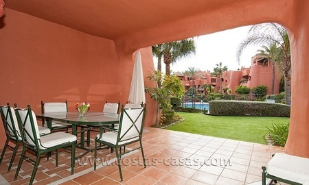 For Sale First Line Apartment in Exclusive Estate on the New Golden Mile between Marbella and Estepona 2