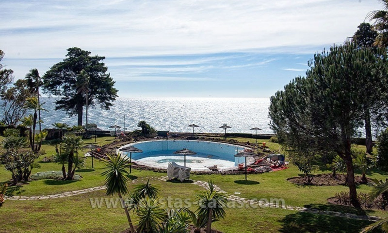 For Sale: Beach Apartment on the New Golden Mile between Marbella and Estepona 0