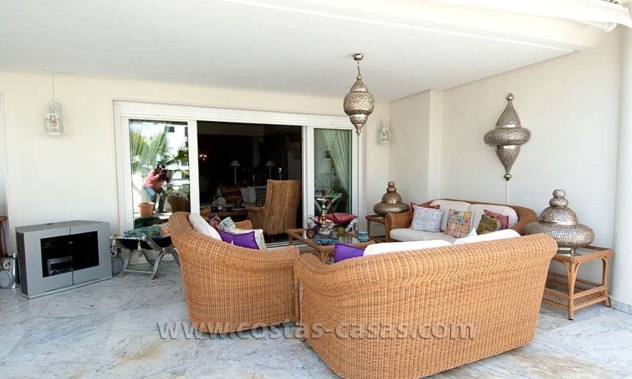 For Sale: Exclusive Apartment at Playas del Duque – Beachfront Estate in Puerto Banús, Marbella 5