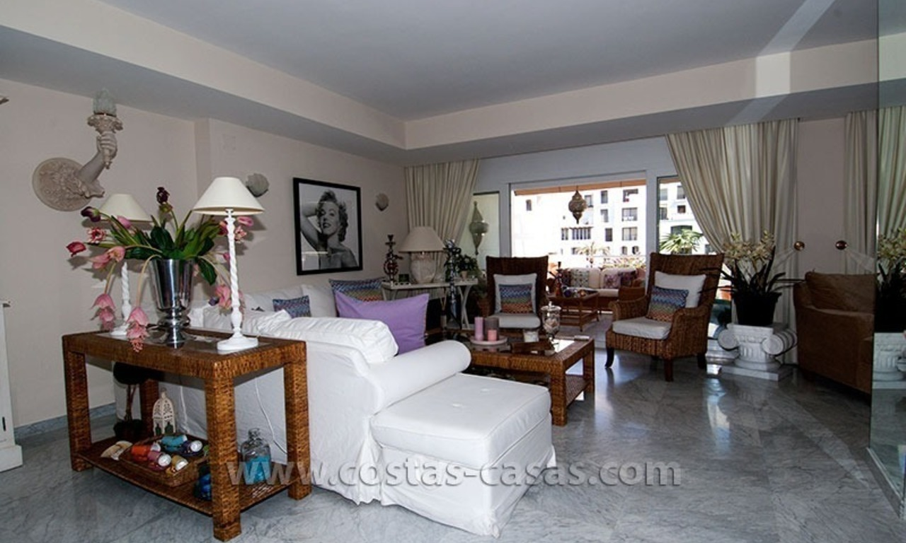 For Sale: Exclusive Apartment at Playas del Duque – Beachfront Estate in Puerto Banús, Marbella 12
