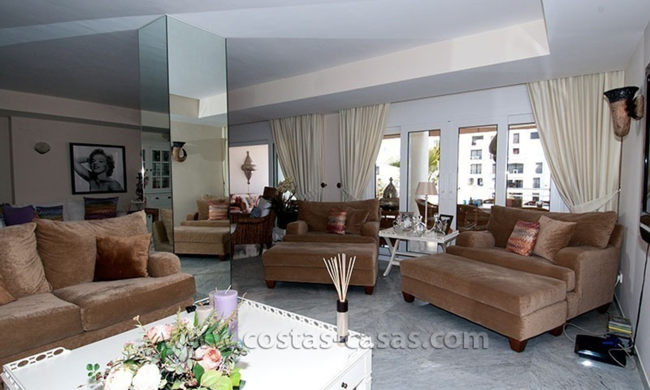 For Sale: Exclusive Apartment at Playas del Duque – Beachfront Estate in Puerto Banús, Marbella 13