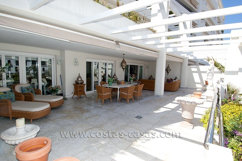 For Sale: Exclusive Apartment at Playas del Duque – Beachfront Estate in Puerto Banús, Marbella