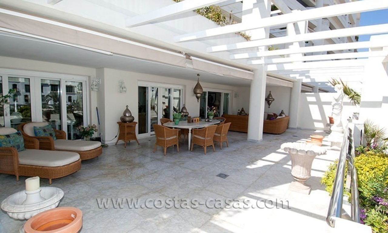 For Sale: Exclusive Apartment at Playas del Duque – Beachfront Estate in Puerto Banús, Marbella 0