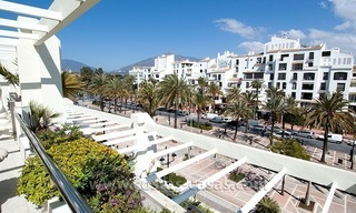 For Sale: Exclusive Apartment at Playas del Duque – Beachfront Estate in Puerto Banús, Marbella 1