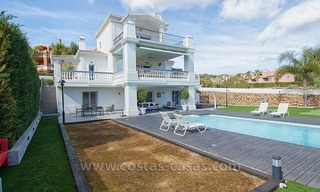 Spacious, Fully Renovated, Modern Villa For Sale in Nueva Andalucía, Marbella 1