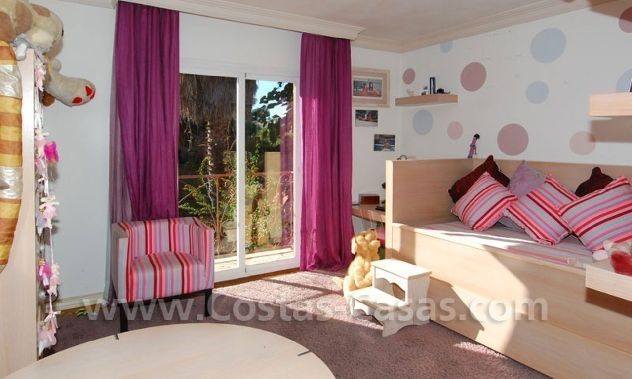 Rustic villa for rent on the Golden Mile in Marbella 22