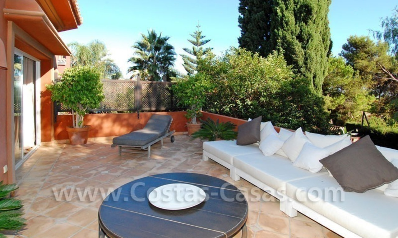 Rustic villa for rent on the Golden Mile in Marbella 5
