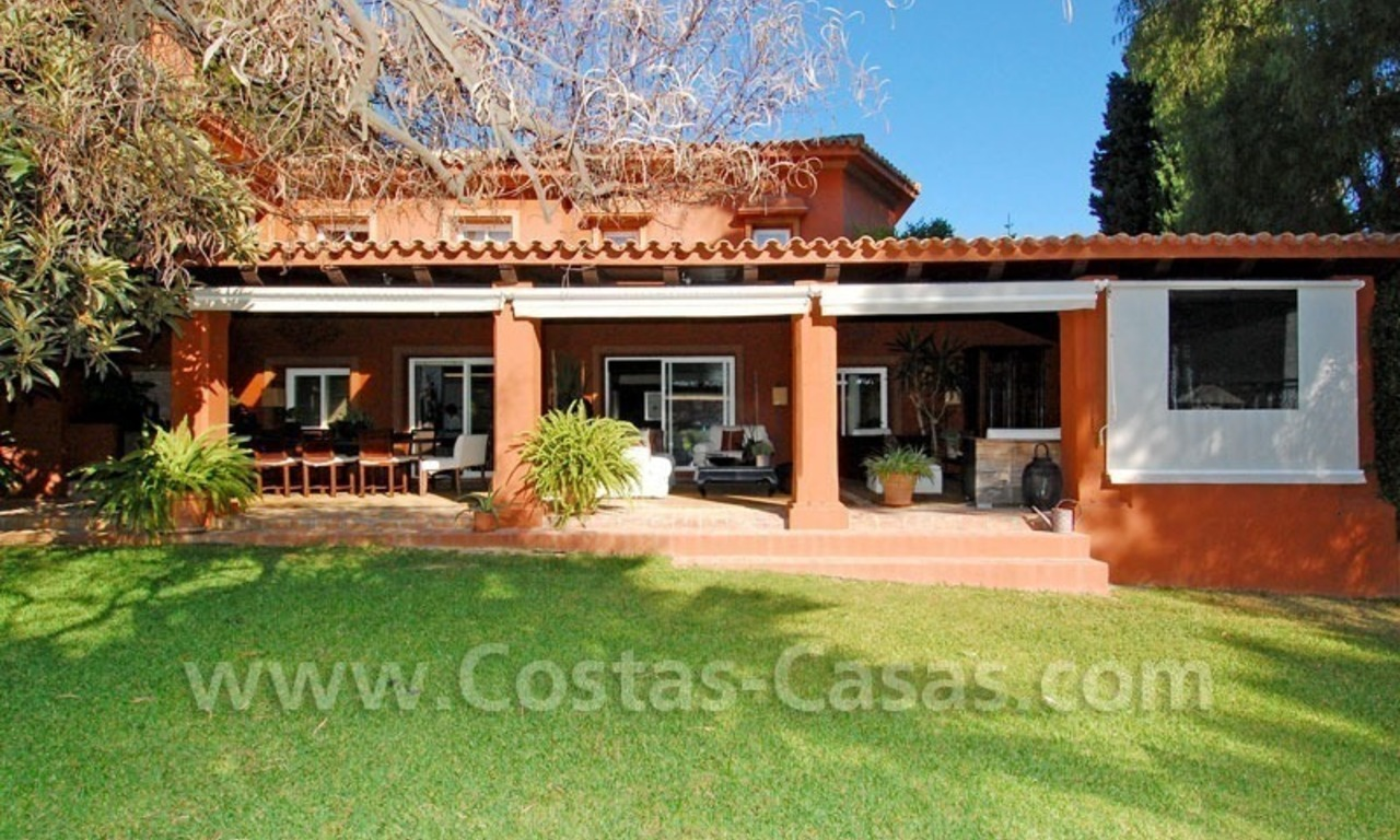 Rustic villa for rent on the Golden Mile in Marbella 4