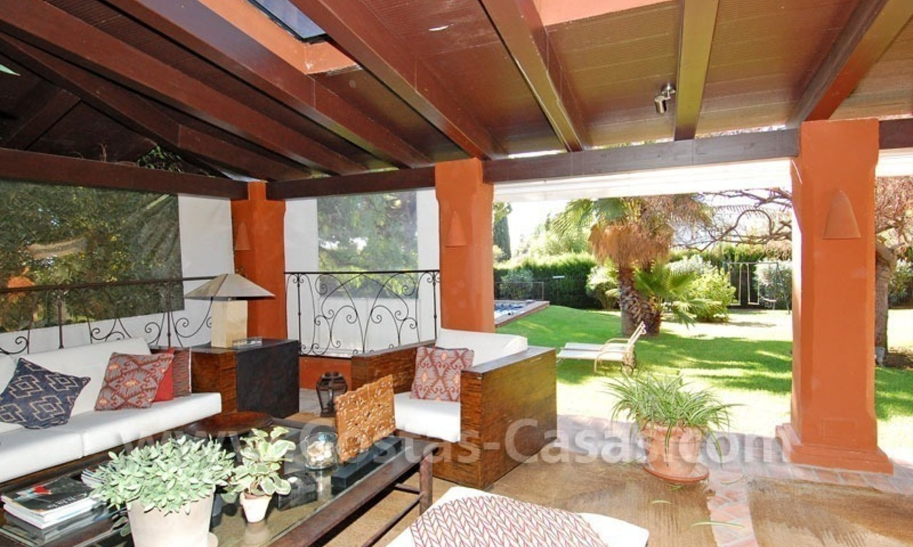 Rustic villa for rent on the Golden Mile in Marbella 8