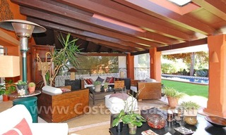 Rustic villa for rent on the Golden Mile in Marbella 9