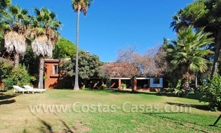 Rustic villa for rent on the Golden Mile in Marbella 2