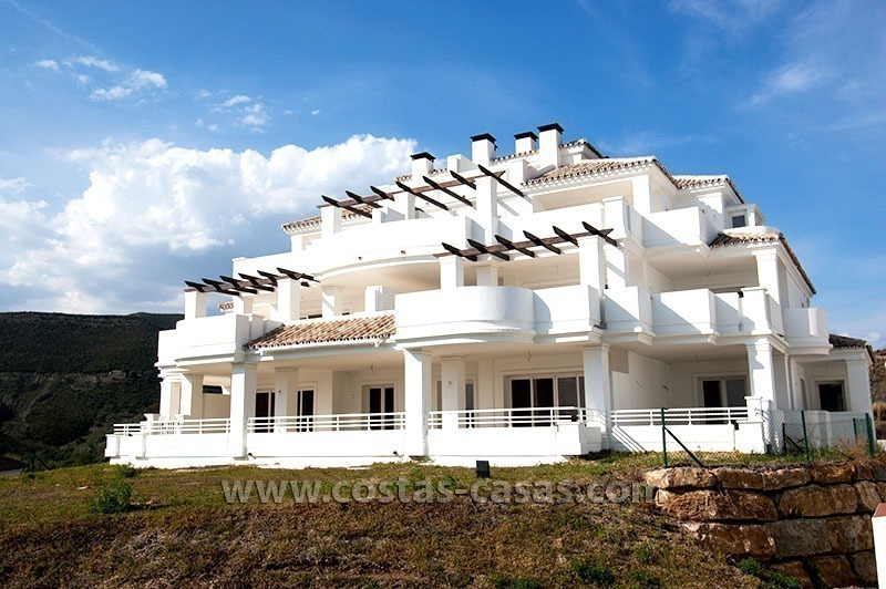 For Sale: New Luxury Apartments and Penthouses in Nueva Andalucía, Marbella