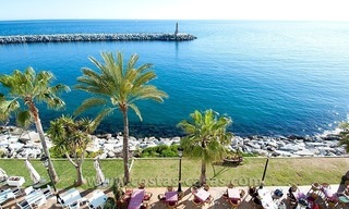 For sale: Seafront Corner Apartment in Puerto Banús, Marbella 0