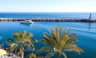 For sale: Seafront Corner Apartment in Puerto Banús, Marbella 1