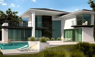 New Modern Contemporary Luxury Villa For Sale in Marbella 0