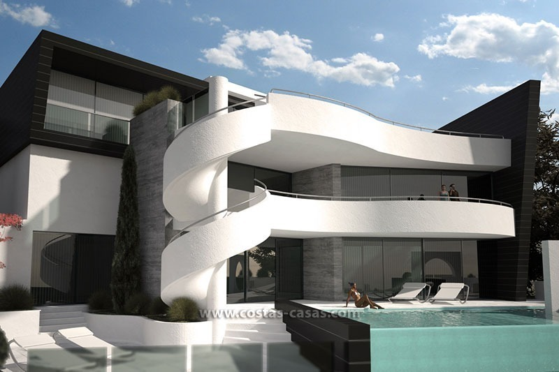 for sale new contemporary luxury villa in marbella - Maison De Luxe Ultra Moderne