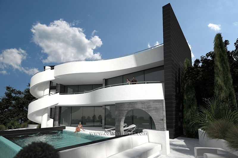 For sale new contemporary luxury villa marbella for Maison de luxe interieur