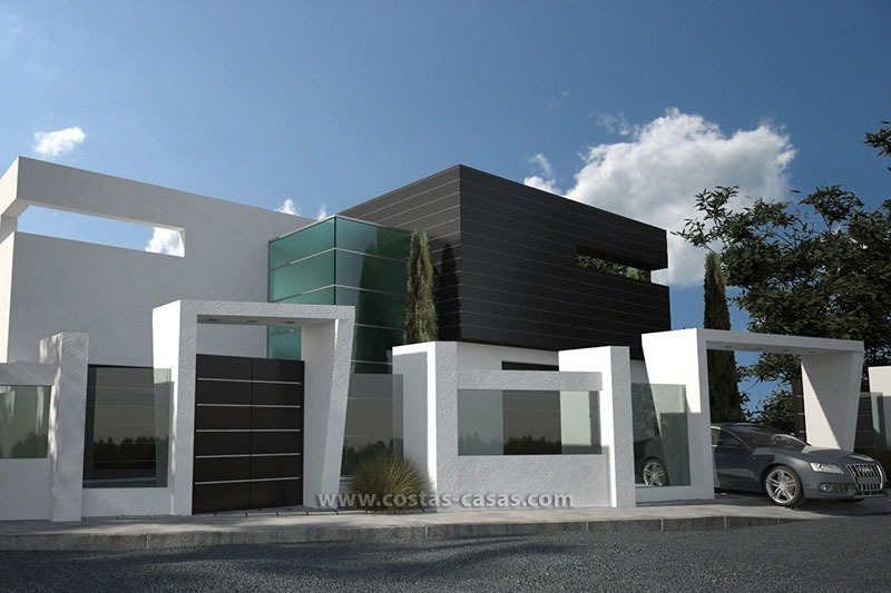 For sale new contemporary luxury villa marbella for Maison moderne de luxe interieur