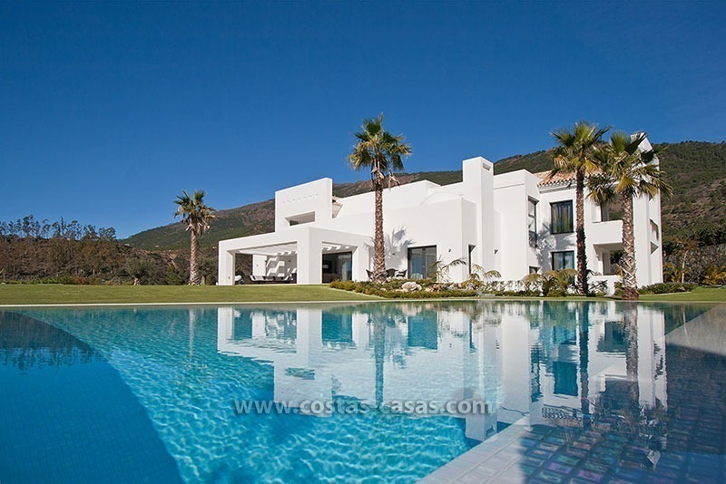 For Sale: New Modern Style Villa in La Zagaleta between Benahavís and Marbella