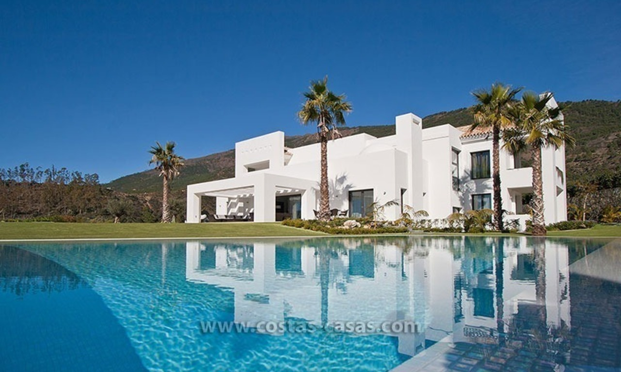 For Sale: New Modern Style Villa in La Zagaleta between Benahavís and Marbella 0