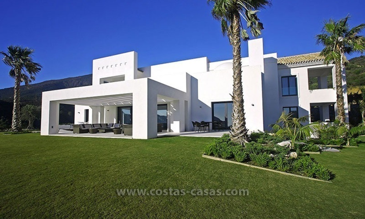 For Sale: New Modern Style Villa in La Zagaleta between Benahavís and Marbella 1