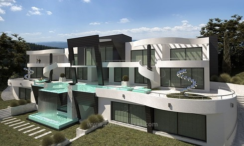 For Sale: Brand New Ultramodern Luxury Villa in Marbella