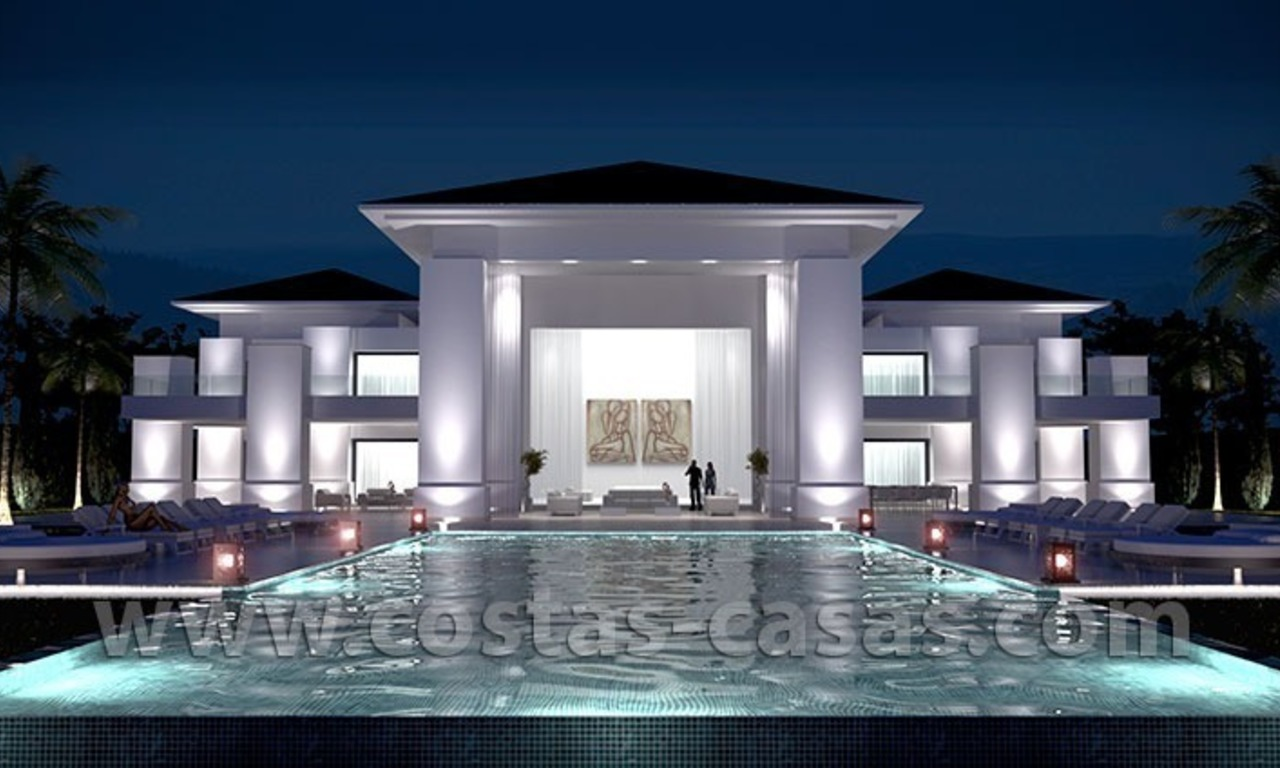 New Modern Exclusive Villa For Sale in Marbella 0