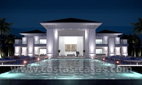 New Modern Exclusive Villa For Sale in Marbella