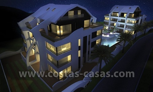 For Sale: New Contemporary Designer Apartments beachside Marbella