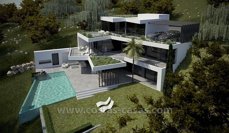 New Modern Luxury Villa For Sale Marbella