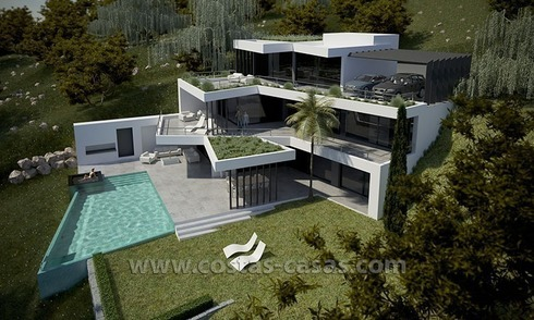 New Modern Luxury Villa For Sale in Marbella