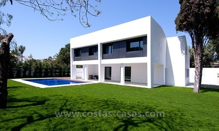 New Modern Luxury Villa For Sale in beachside Marbella