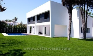 New Modern Luxury Villa For Sale in beachside Marbella 1