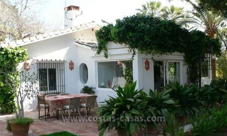 Bargain! Villa Surrounded by Golf Courses near Downtown Marbella