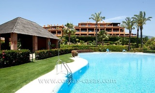 Opportunity! Luxury apartment for sale, with sea view, frontline golf complex in Marbella - Benahavis 14